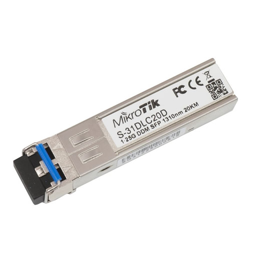 S-31DLC20D SFP (1.25G) module, 20KM, Single Mode